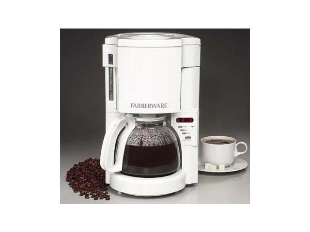 Farberware Coffee Maker Ratings : FARBERWARE FSCM100 10 Cup Programmable Coffee Maker - Newegg.com