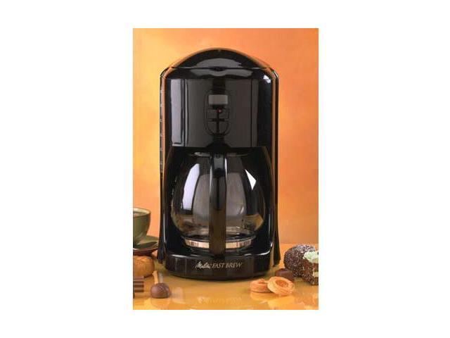 Melitta MEFB2B Black Fast Brew 12 cup Coffee Maker - Newegg.com