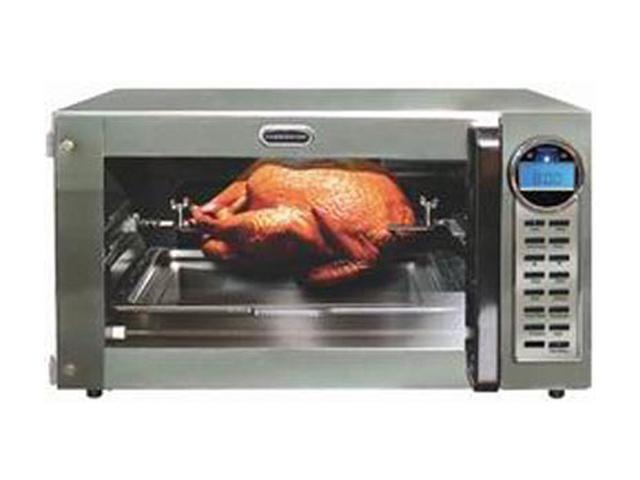 ... FAC900R Silver Convection Toaster Oven with Rotisserie-Newegg.com