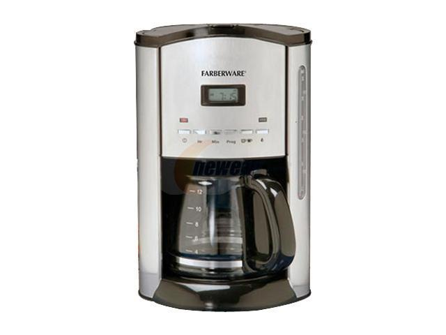 Farberware Coffee Maker Cleaning : FARBERWARE FCM12SS 12 Cup Programmable Coffee Maker - Newegg.com