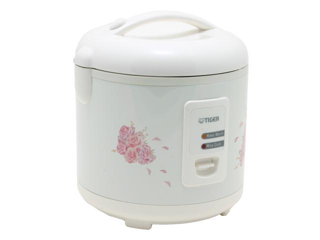 Tiger JAZ-A18U Electric Rice Cooker and Warmer with Steam Basket, White, 20 Cups Cooked/10 Cups Uncooked