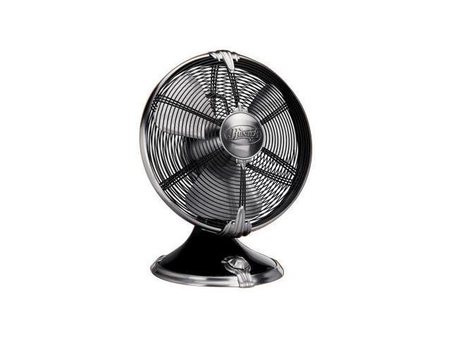 "Hunter 90042 12"" Oscillating Table Fan Onyx Black"