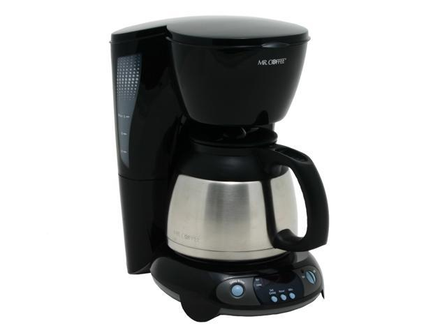 Mr Coffee Tftx85 Black 8 Cup Thermal Programmable Coffee