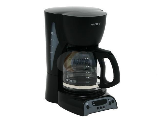 Coffee Maker Without Auto Shut Off : MR. COFFEE DRX23 12-Cup Programmable Coffee Maker - Newegg.com
