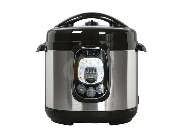 Maxi-Matic Elite EPC-807 Elite Platinum 8-Quart 1200 Watts Digital Pressure Cooker with Non-Stick Pot