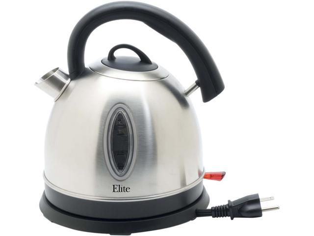 MAXI-MATIC EKT-6863 Stainless Steel 1.7L Cordless Electric Kettle