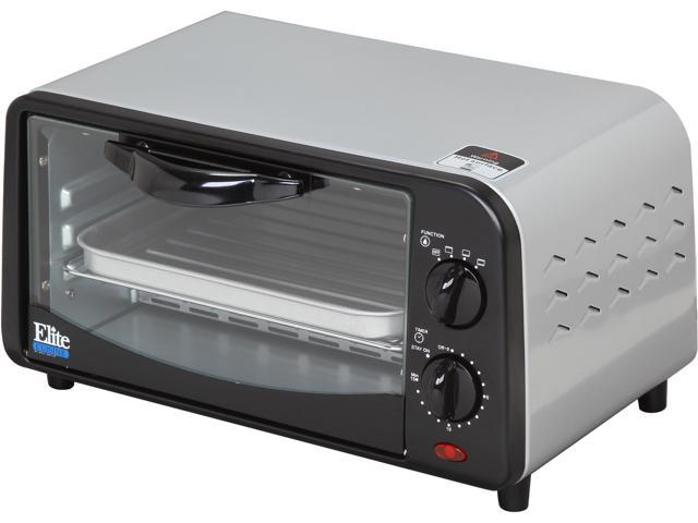 Maxi-Matic Elite EKA-9210SI Silver 4-Slice Toaster Oven Broiler