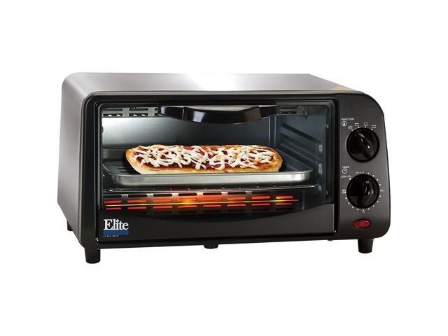Maxi Matic Elite Eka 9210xb Black 4 Slice Toaster Oven