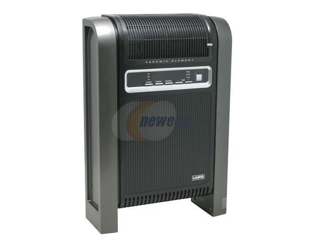 lasko cyclonic ceramic heater with remote control and fresh air ionizer option