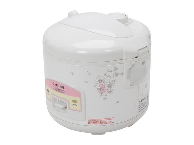TATUNG TRC-6UDW White 5.5 Cup Electronic Rice Cooker