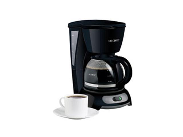 Mr Coffee Maker 4 Cup : MR. COFFEE TF5 Black 4-Cup Switch Coffee Maker - Newegg.com
