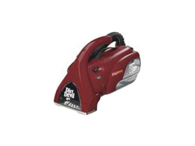 Dirt Devil M08245X Power Reach Hand Vac Red