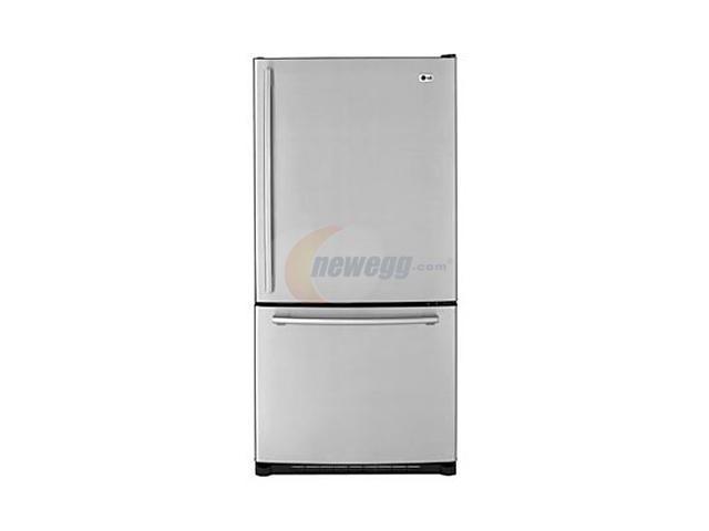 LG 22.4 cu.ft. Bottom Freezer Stainless Steel LBN22515ST