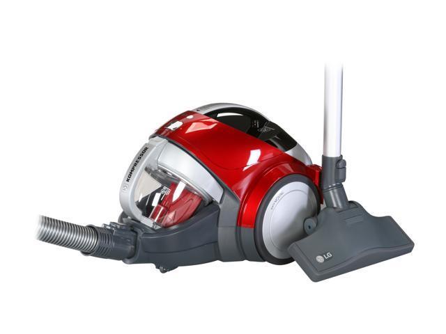 LG LCV800R KOMPRESSOR Lightweight PetCare Canister Vacuum Cleaner Wild Cherry Red