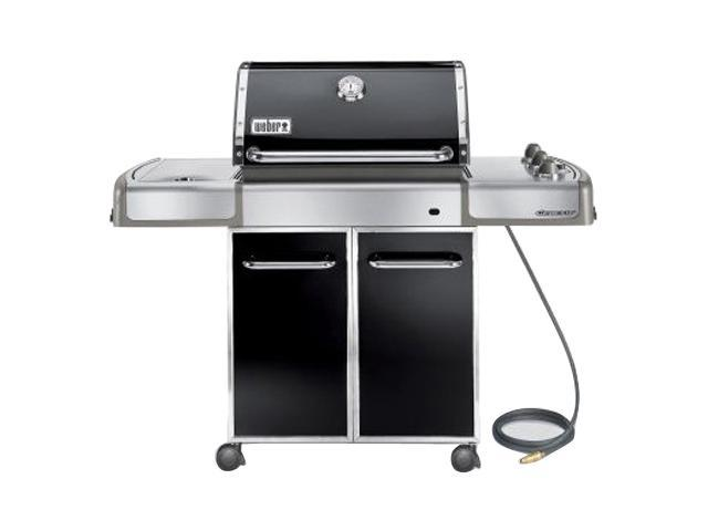 weber genesis e 320 natural gas grill 3851001 black. Black Bedroom Furniture Sets. Home Design Ideas
