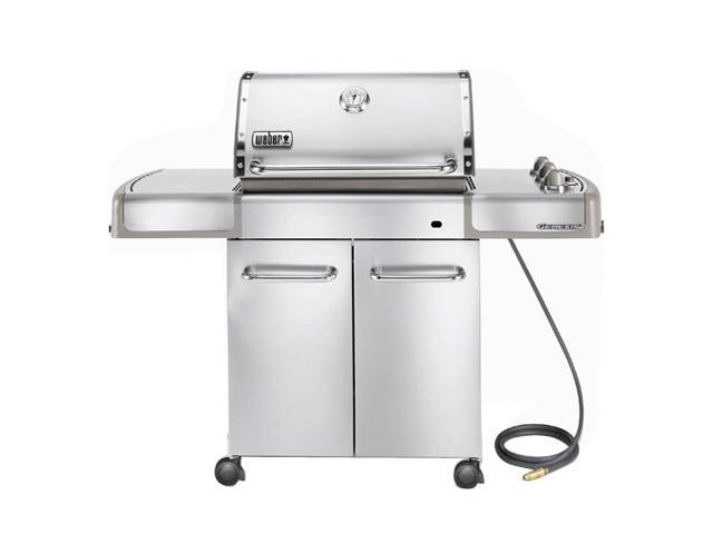 Weber genesis s 310 natural gas grill stainless steel for Weber grill danemark