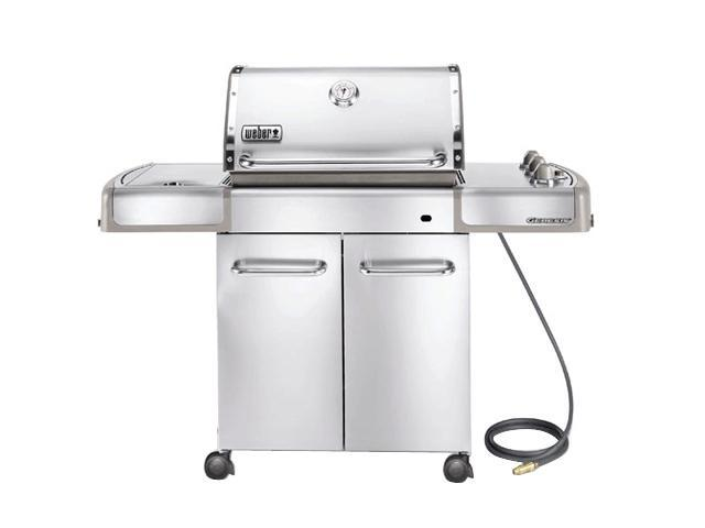 weber genesis s 320 natural gas grill 3880001 stainless. Black Bedroom Furniture Sets. Home Design Ideas