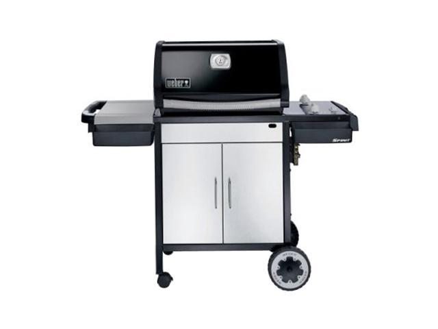 weber spirit e 210 propane gas grill 3711001 black. Black Bedroom Furniture Sets. Home Design Ideas