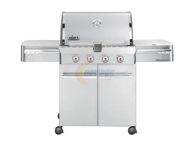 weber summit s 420 gas grill lp 1710001 stainless steel. Black Bedroom Furniture Sets. Home Design Ideas