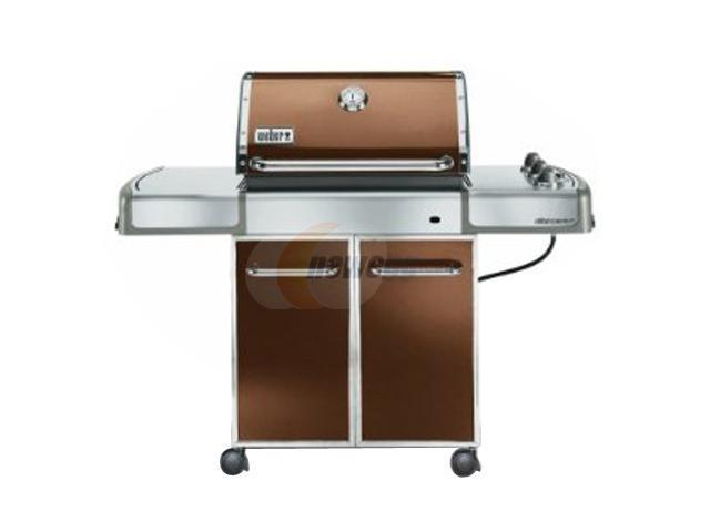 weber genesis e 310 propane grill 3742001 copper. Black Bedroom Furniture Sets. Home Design Ideas