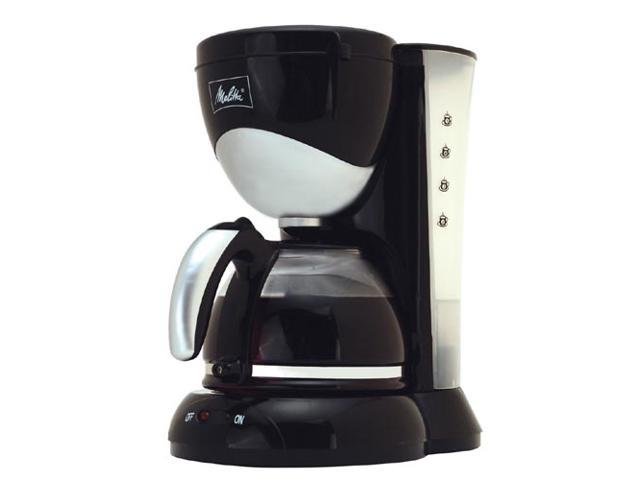 Melitta ME5CB Black 5 Cup Coffee Maker