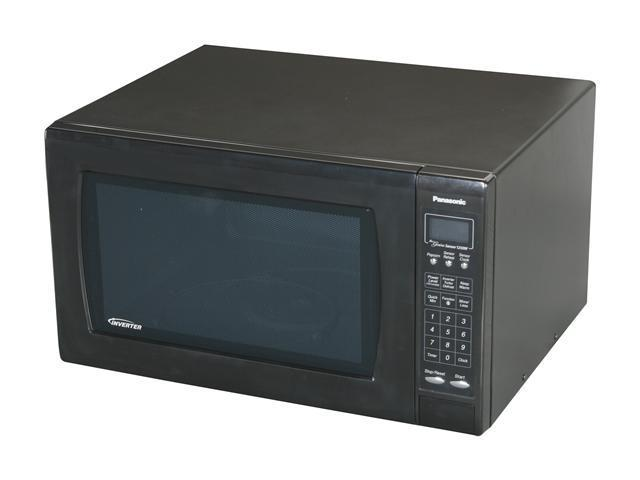 Panasonic NN-H965BF 2.2 cu. ft. Countertop Microwave Oven with ...