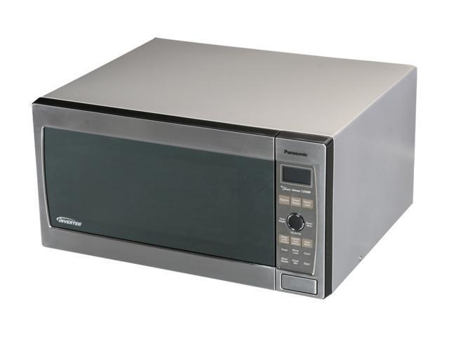 Panasonic 1250 Watts Full Size 1 6 Cu Ft Microwave Oven