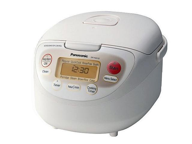 Panasonic SR-NA10 White 5.5-Cup Rice Cooker