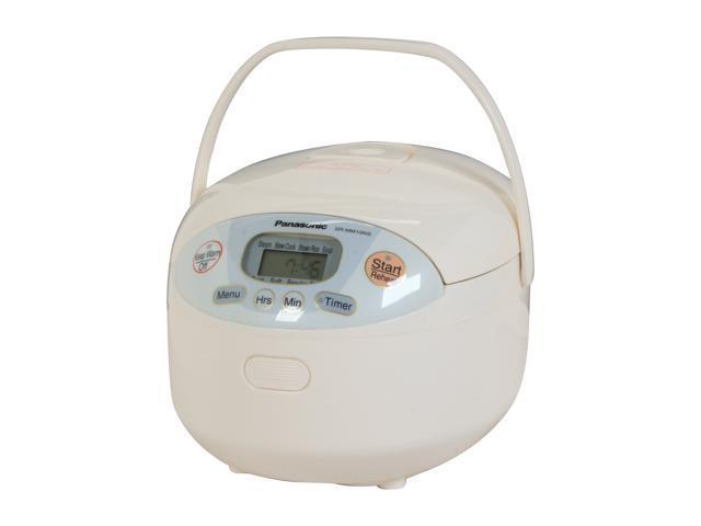 Panasonic SR-MM10NS-W Neuro Fuzzy Electronic Rice Cooker ...