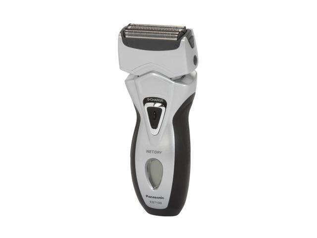 Panasonic ES7109S Men's Vortex Wet/Dry Triple-Blade Shaver w/ HydraClean System