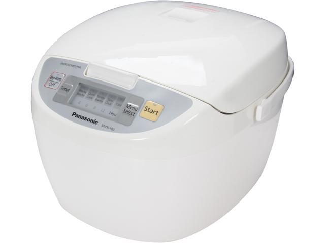 Panasonic SR-DG182 White Microcomputer Controlled Fuzzy Logic 10 Cups (Uncooked)/20 Cups (Cooked) Rice Cooker
