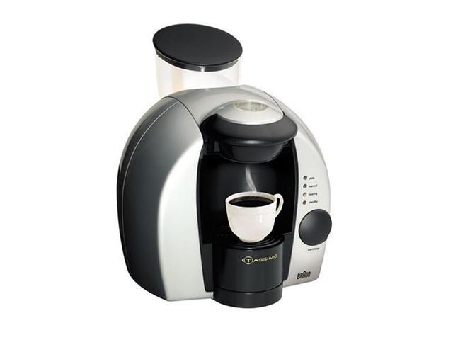 Braun Tassimo Coffee Maker Spares : Braun TA1200 Tassimo Single-Serve Hot Beverage System - Newegg.com