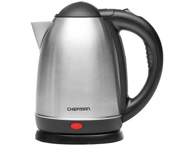 Chefman RJ11-17 1.7-Liter Cordless Electric Kettle 1.7-Liter, Stainless-Steel