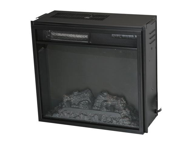 ClassicFlame Electric Insert with Backlit Display w/remote Black