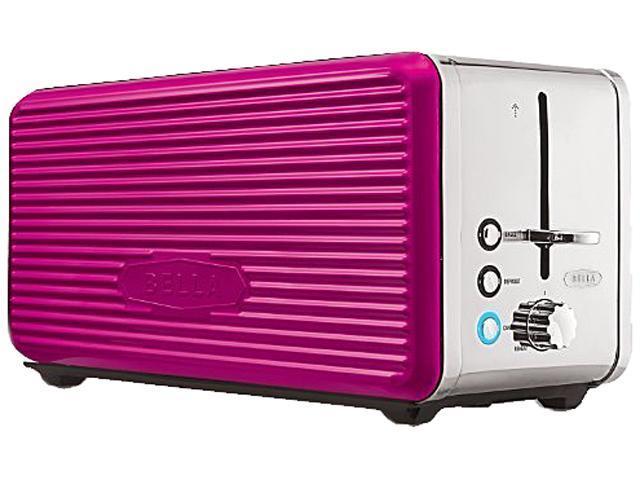 Bella 14171 Pink Linea 4 Slice Toaster Pink