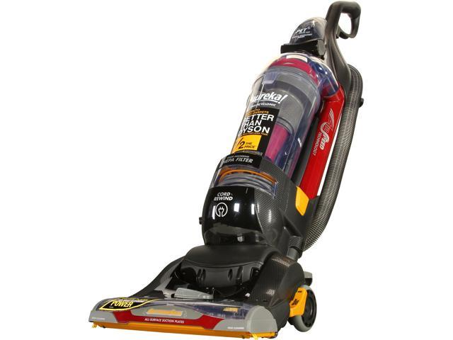 Eureka AS1104A SuctionSeal PET Upright Vacuum, Black/Red