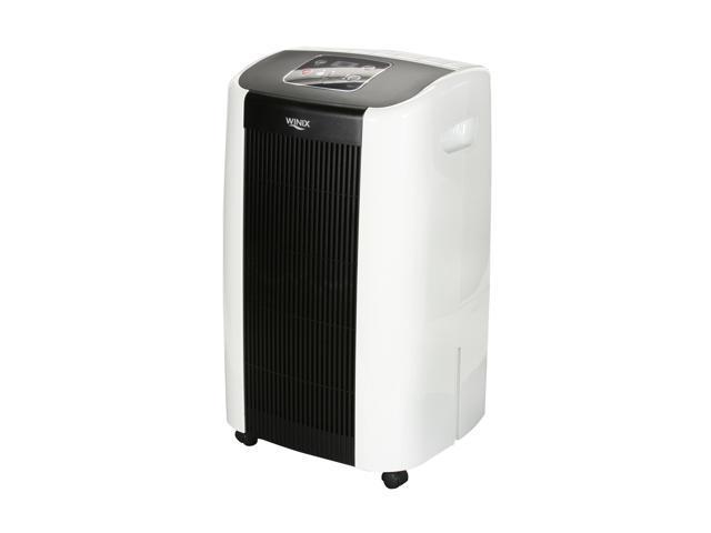 Winix WDH751 50 pint Dehumidifier with built-in pump Black/White