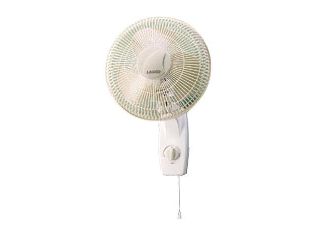 """LASKO 3012 12"""" Oscillating Wall-Mount Fan"""