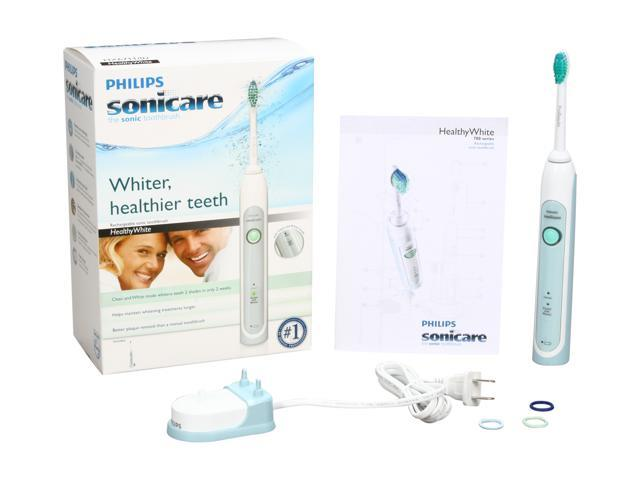 Sonicare HealthyWhite Rechargeable Sonic Toothbrush w/ 2 Modes