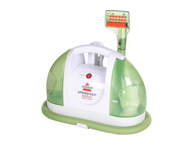 BISSELL 50Y6 Little Green Proheat Deep Reach Spot Cleaner White/Green