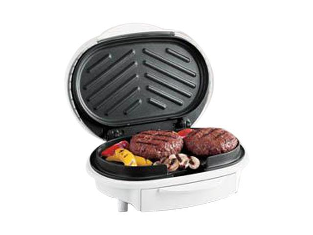 Hamilton Beach 25219 White HealthSmart Contact Grill