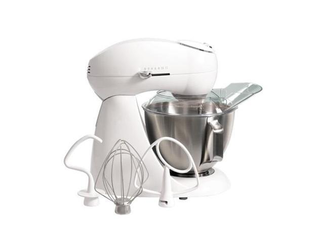 Hamilton Beach 63221 Eclectrics Sugar All-Metal Stand Mixer White