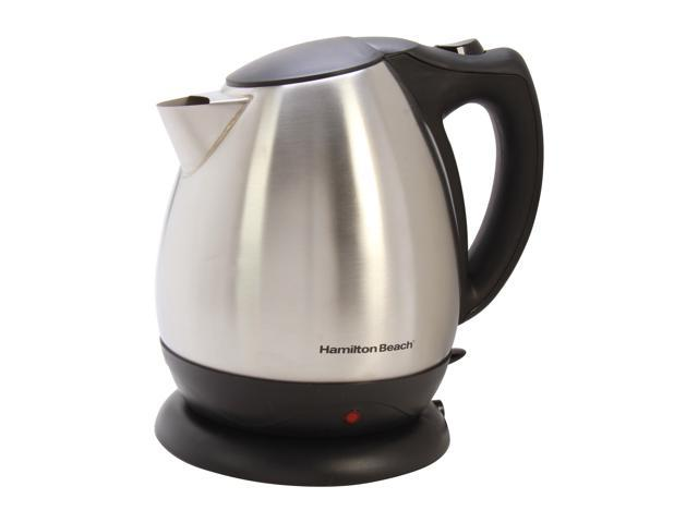 Hamilton Beach 40870 Stainless Steel 10 Cup Electric Kettle