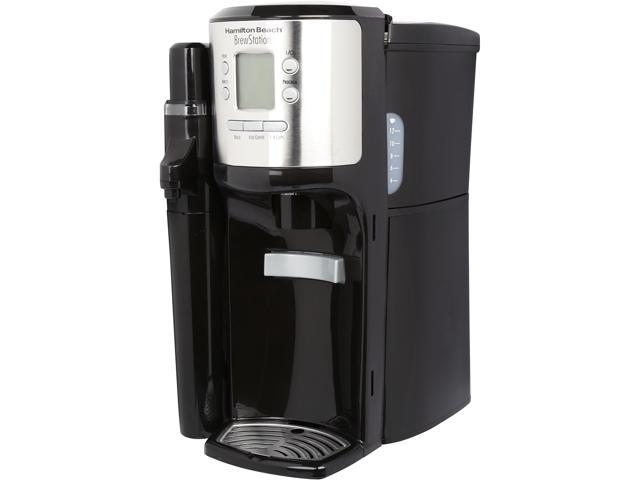 Hamilton Beach 49150 Black BrewStation 12 Cups Programmable Dispensing Coffeemaker