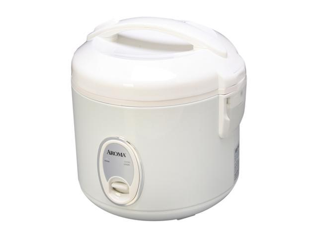 Aroma 8-Cup White Electronic Rice Cooker ARC-914S