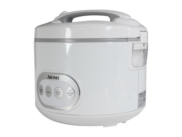 AROMA ARC-978 White 16-Cup Cool-Touch Rice Cooker