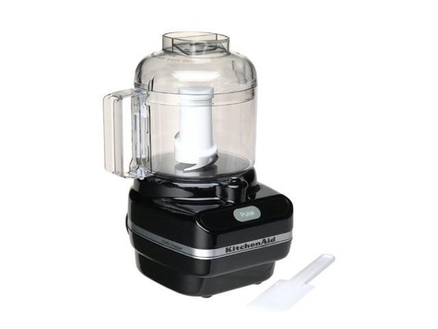 Kitchenaid kfc3100ob onyx black chef 39 s chopper series 3 cup food processor - Kitchenaid chefs chopper ...
