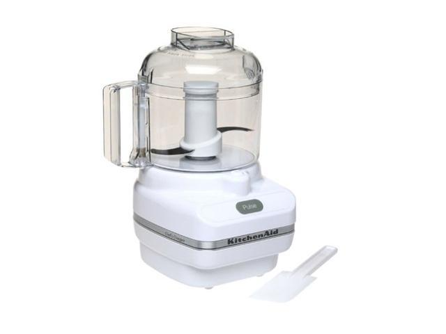 Kitchenaid kfc3100wh white chef 39 s chopper series 3 cup food processor - Kitchenaid chefs chopper ...