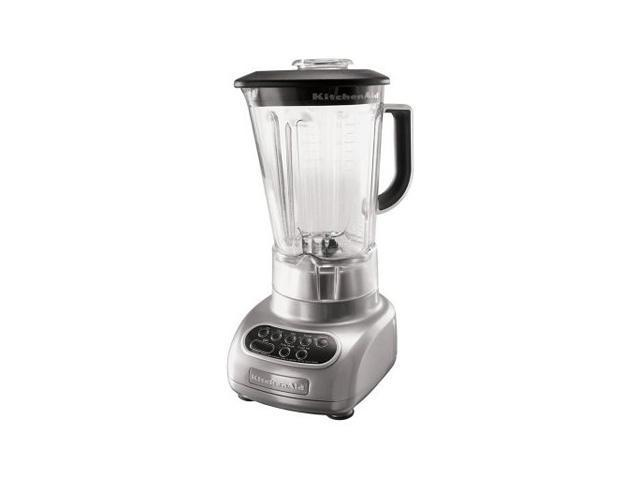 KitchenAid KSB560MC Metallic Chrome 56 oz. Jar Size 56 oz. Polycarbonate Pitcher Blender 5 speeds