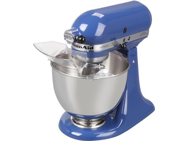 KitchenAid KSM150PSBW Artisan Series 5-Quart Tilt-Head Stand Mixer Blue Willow